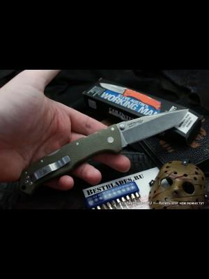 Cold Steel preklopni nož, model: Steve Austin Working Man zelen