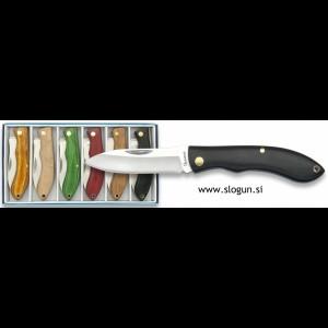 Martinez Albainox preklopni nož 6,2cm rezilo z lesenim ročajem mix barva - 19552