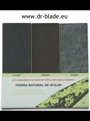 Martinez Albainox 3-delni set brusilcev  - kamnov (21209)