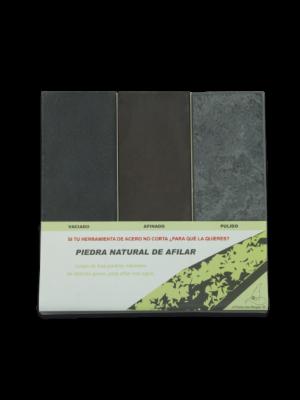Martinez Albainox naravni 3-delni set brusilec