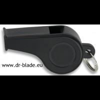 Piščalka črna plastika (33030)