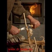 Morakniv nož za obdelavo lesa 220 z dvojnim ročajem (11,4 cm)