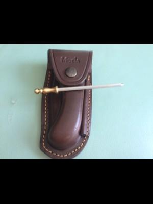 Muela usnjeni etui z prenosno brusilno palico, model: F/GL-10C