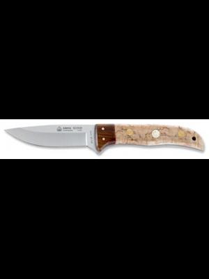 Puma IP Sierra fiksni nož z ročajem iz brezinega lesa