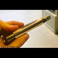 Puma preklopni nož z damaščanskim rezilom, model: 73 Lagen Damast