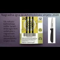 Sanelli Ambrogio Supra kuhinjski nož 9 cm (NAGRADNA IGRA ZA AVTOMOBILSKO VINJETO 2020!)